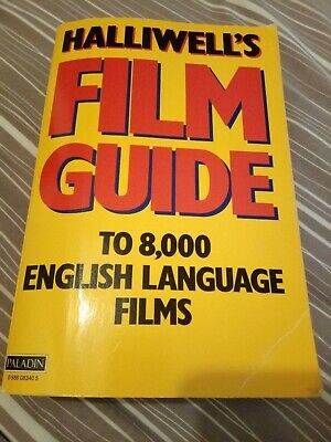 Halliwell's Film Guide To 8,000 English Language Films • 2.50£
