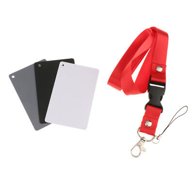 Grey Card White Balance Cards 18% Exposure Photography Color Calibration Camera • 3.08£
