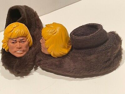 $149.99 • Buy 1984 Rare Masters Of The Universe He-man Slippers Vintage Kids