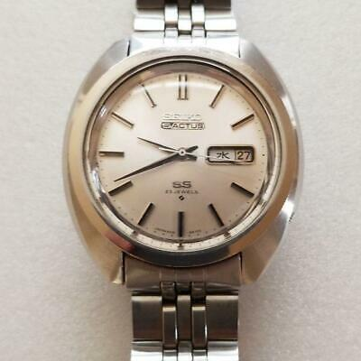$ CDN165.18 • Buy Vintage Seiko 5 Actus SS 6106-8440 Automatic 23Jewels Silver Dial Mens Watch
