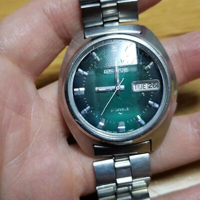 $ CDN139.77 • Buy Vintage Seiko 5 Actus 7019-7350 Automatic 21Jewels Green Dial Mens Watch
