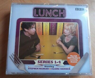 £24.99 • Buy Lunch BBC Radio 4 Comedy Drama Audio Cd Series 1-4