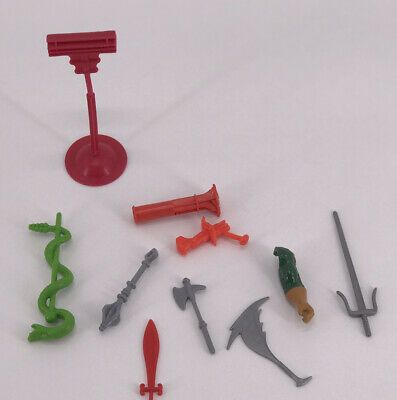 $84.91 • Buy Vintage Masters Of The Universe LOT WEAPONS ACTION FIGURES ACCESSORIES Toy MOTU