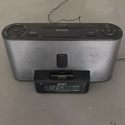 AU17.79 • Buy Sony Dream Machine IPhone / IPod Dock ICF-C1iPMK2 AM/FM Alarm Clock Radio