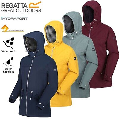 Regatta Womens Brigid Waterproof Jacket Insulated Parka Hooded Hydrafort Coat • 32.99£