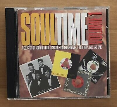 Various - Soul Time - Northern Soul Classics From Columbia, Epic & Date. CD • 5.50£