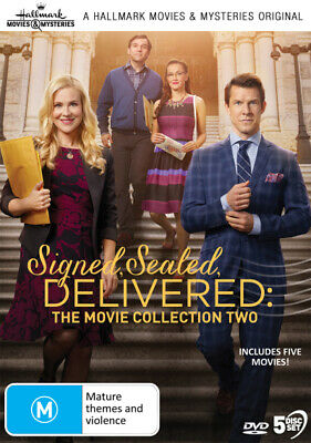 AU70.99 • Buy Hallmark Movies: Signed, Sealed, Delivered: The Movie Collection 2 [new Dvd]