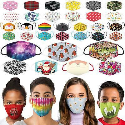 £1.95 • Buy Reusable Face Mask Covering Double Cotton Protection Washable Child Kids Adult