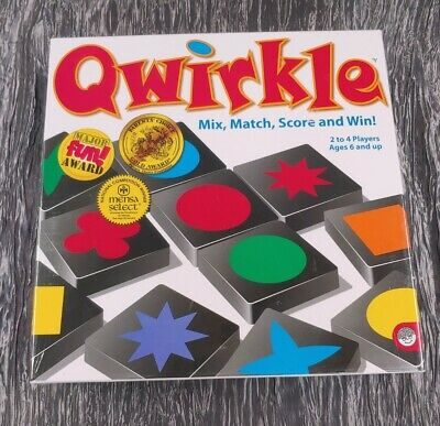 $ CDN17.08 • Buy NEW SEALED QWIRKLE (Quirkle) Mix Match Score & Win Game By MindWare Mensa Select