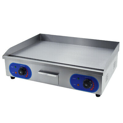 £179 • Buy 4400W Commercial Electric Griddle Large Flat BBQ Grill Hotplate 73cm Countertop