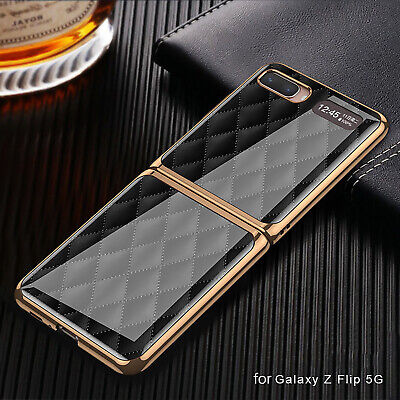AU23.42 • Buy Plating Case Glass Protective Back Cover For Samsung Galaxy Z Flip/F7000/F7070