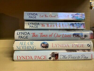 £14 • Buy Job Lot Collection Of 5 Lynda Page Adult Fiction Books
