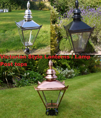 Antique Style Victorian Lanterns Lamp Post Tops Various Finishes • 179.99£