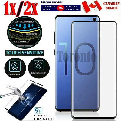 $ CDN5.89 • Buy For Samsung Galaxy S8 S9 S10 S20 Plus Ultra S10e Tempered Glass Screen Protector