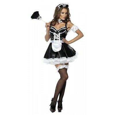 $30.09 • Buy Sexy Maid Outfit Adult Halloween Costume French Fancy Dress