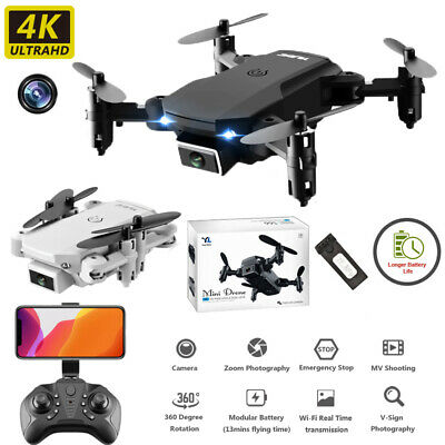 AU44.99 • Buy 4K HD Drone X Pro Aerial Camera WIFI FPV Foldable Mini Selfie RC Quadcopter AU