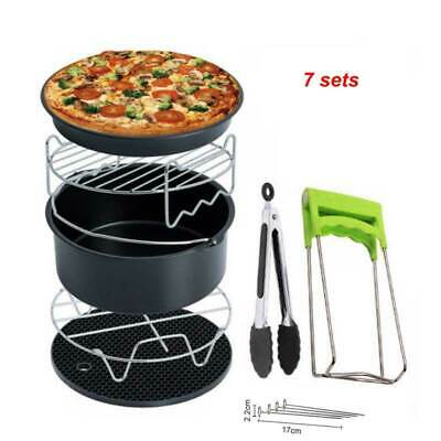 AU54.52 • Buy Air Fryer Accessories 7set  For Cosori Ninja & Philips Set Of 8 Fit All Airfryer