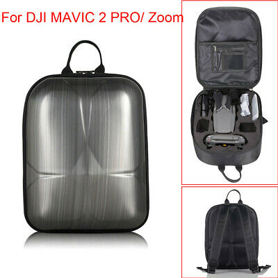 AU56.50 • Buy Hard Shell Carrying Backpack Bag Case Waterproof Anti-Shock For DJI Mavic 2 Pro