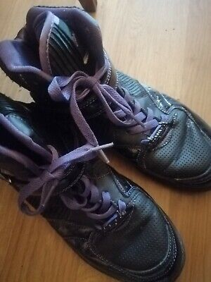 £12 • Buy Pineapple Black And Purple Shoes Size 7