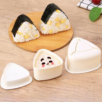 Sushi Mould, Rice Ball, Triangle Longevity Driver's Mould, Kitchen Snack • 3.99£