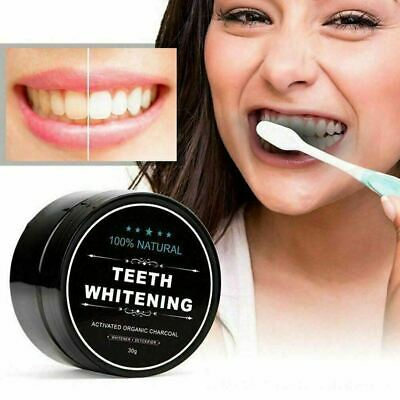 AU4.19 • Buy Natural Organic Activated Charcoal Tooth Teeth Whitening Powder Mint Bamboo Hot