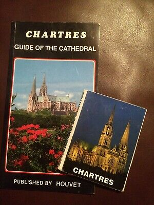 Chartres : Guide Of The Cathedral  (Paperback) And Pull Out Picture Souvenir. • 1.50£