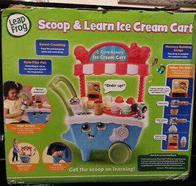 LeapFrog/ Leapster 600700 Scoop & Learn Ice Cream Cart**Box Opened** • 33£