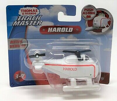 Thomas & Friends TrackMaster Harold For Push Along Railway Vehicle Small Toy • 8.75£