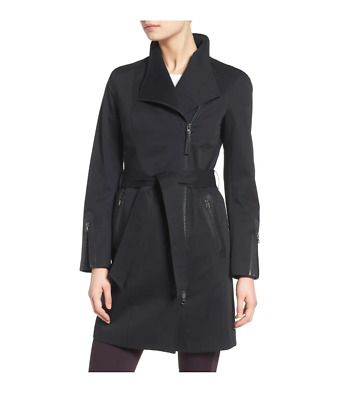 $139.99 • Buy Mackage Estela Belted Trench Coat W/ Contrast Zippers  Size:L  $450  NWT