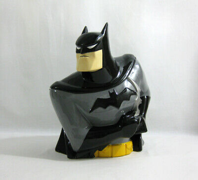1998 Vintage DC Comics ✧ BATMAN ✧ Animated Style Cookie Jar SL1 • 75£