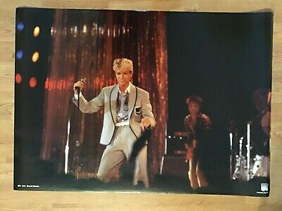 $29.99 • Buy David Bowie Live In Concert RO141 23x33 Printed In Holland-Original Poster-1984