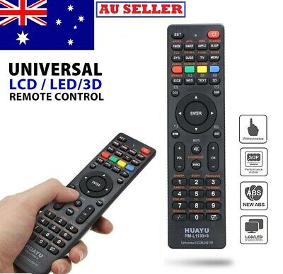 AU8.50 • Buy Universal Remote Control Replacement For Samsung LED LCD Samsung Plasma TV Sony