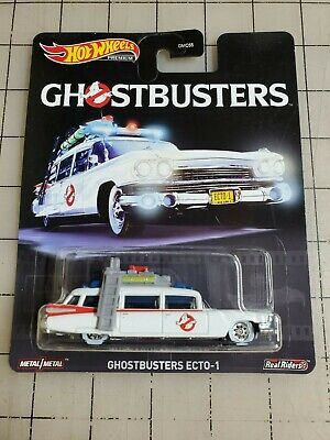 Hot Wheels Pop Culture Ghostbusters Ecto-1 Real Riders • 10.01£