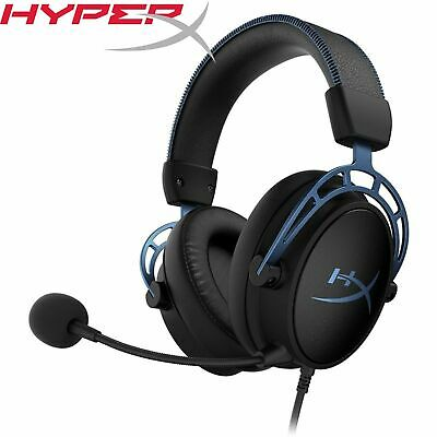 AU148.90 • Buy HyperX Cloud Alpha S Blue 7.1 Gaming Headset Headphone With Noise-Cancelling Mic
