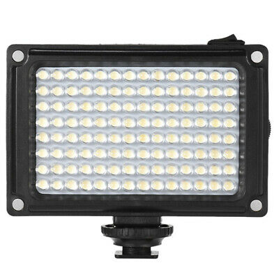 96 LED Video Light Lamp Lighting Hot Shoe For Canon DSLR Camera Camcorder O0V7 • 9.15£