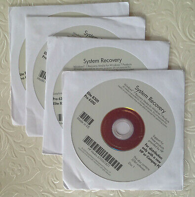 HP Microsoft Windows 7 Pro SP1 32Bit Operating System DVD Genuine 670062-B21 • 15£