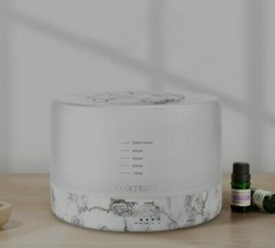 AU27.65 • Buy Comtervi 500ml Essential Oil Diffuser For Aromatherapy, 7 Color
