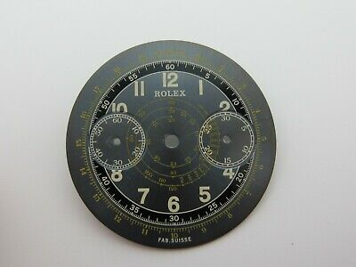 $ CDN1874.70 • Buy Rolex Vintage Grey With Gold Dial For Ref 2508 New Old Service Dial 32.5mm !!