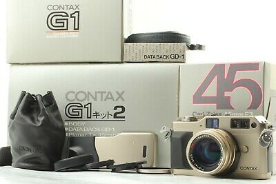 $ CDN1076.09 • Buy 【Mint In Box】 Contax G1 Green Label Body + 45mm F2 Lens + Data Back From Japan