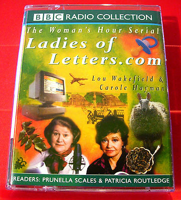 Lou Wakefield/Carole Hayman Ladies Of Letters.com 2-Tape Audio Prunella Scales • 2.99£