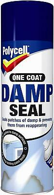 Polycell Damp Seal Anti Mould Aerosol 500ml Spray Can One Coat New  • 11.99£
