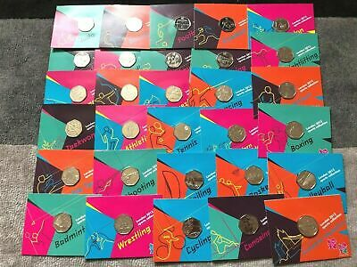 £25 • Buy 2012 London Olympic Games 50p Sports Collection Uncirculated. On The Card