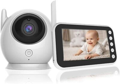 """View Details Wireless Video Baby Monitor 4.3"""" Video Audio Camera Two-Way Talk Night Vision  • 49.99£"""