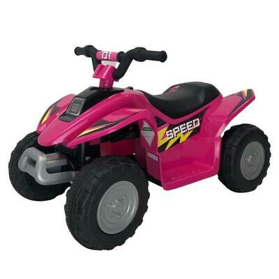 AU119 • Buy NEW 6V Kids Electric Ride On ATV Quad Bike 4 Wheeler Toy Car - Pink
