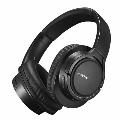 Mpow Wireless Bluetooth Over Ear Headphones Earphones With Noise Cancelling Mic • 25.75£