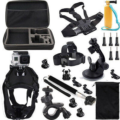 AU50.97 • Buy Accessories Sports Dog Mount Harness Kit For GoPro HERO HD9 8 7 6 5 4 Session 3+