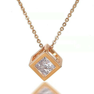AU19.56 • Buy Platted Gold Necklace Valentines Day Gift For Her Mom Wife Girlfriend