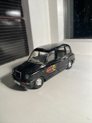 £3.99 • Buy Corgi Toys TX1 LONDON TAXI With Opening Doors Dial A Cab Branding (unboxed)