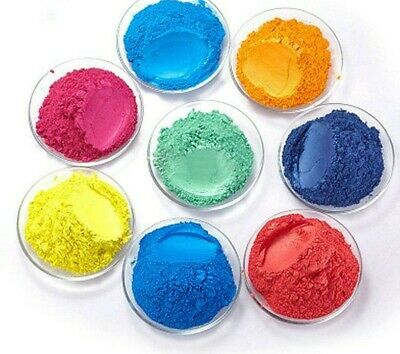 £2.99 • Buy Cosmetic Mica Powder Pigment - Candle Wax, Soap & Bathbombs Dyes  - 10g Colours