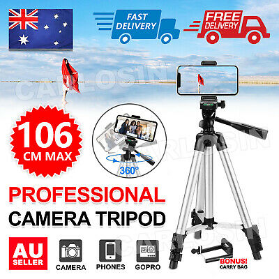 AU12.95 • Buy Adjustable Camera Tripod Mount Stand Holder For IPhone 12 Pro SE Max Samsung S20